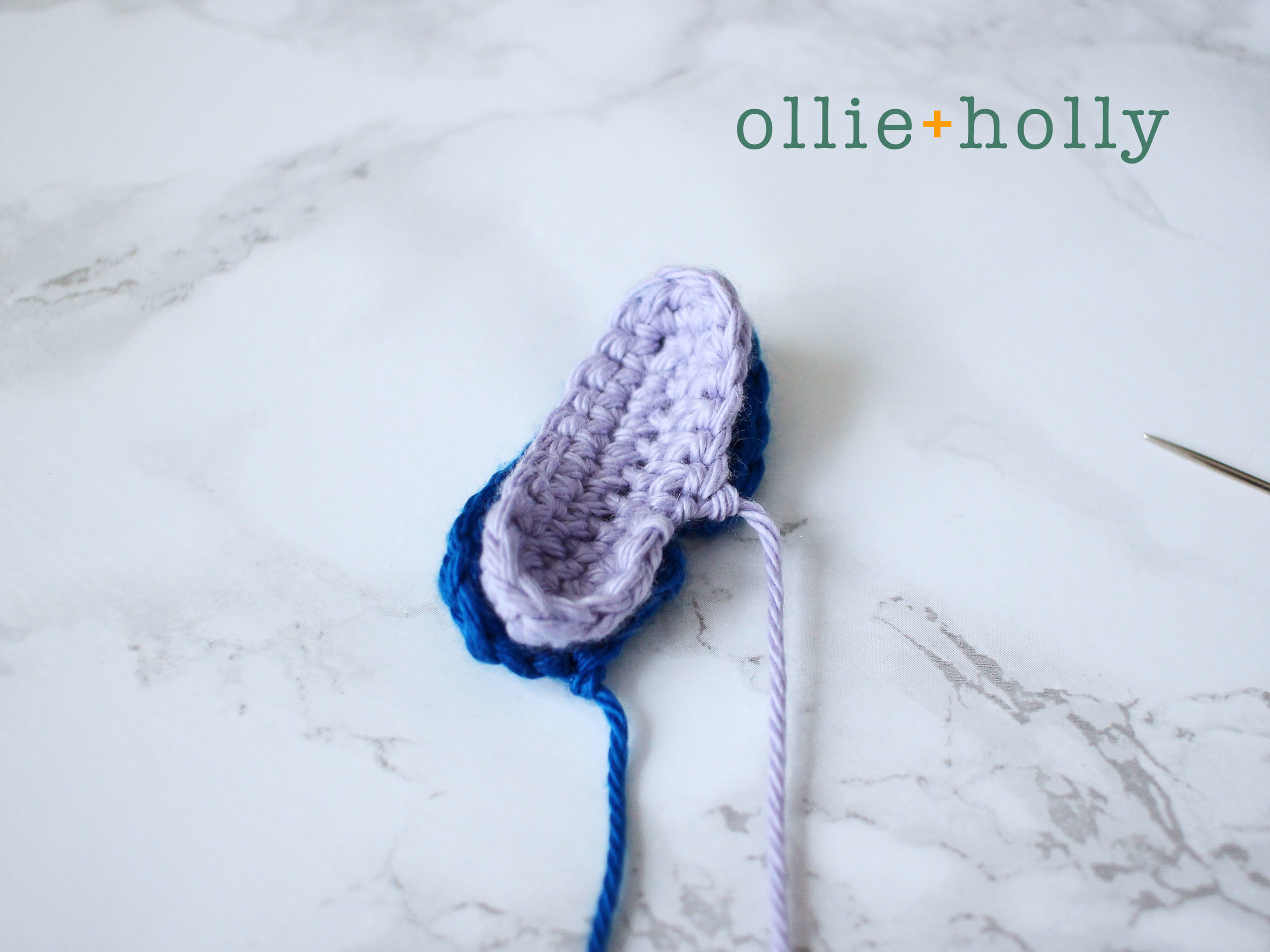 stitFree Lilo and Stitch Amigurumi Crochet Keychain Pattern Step 8