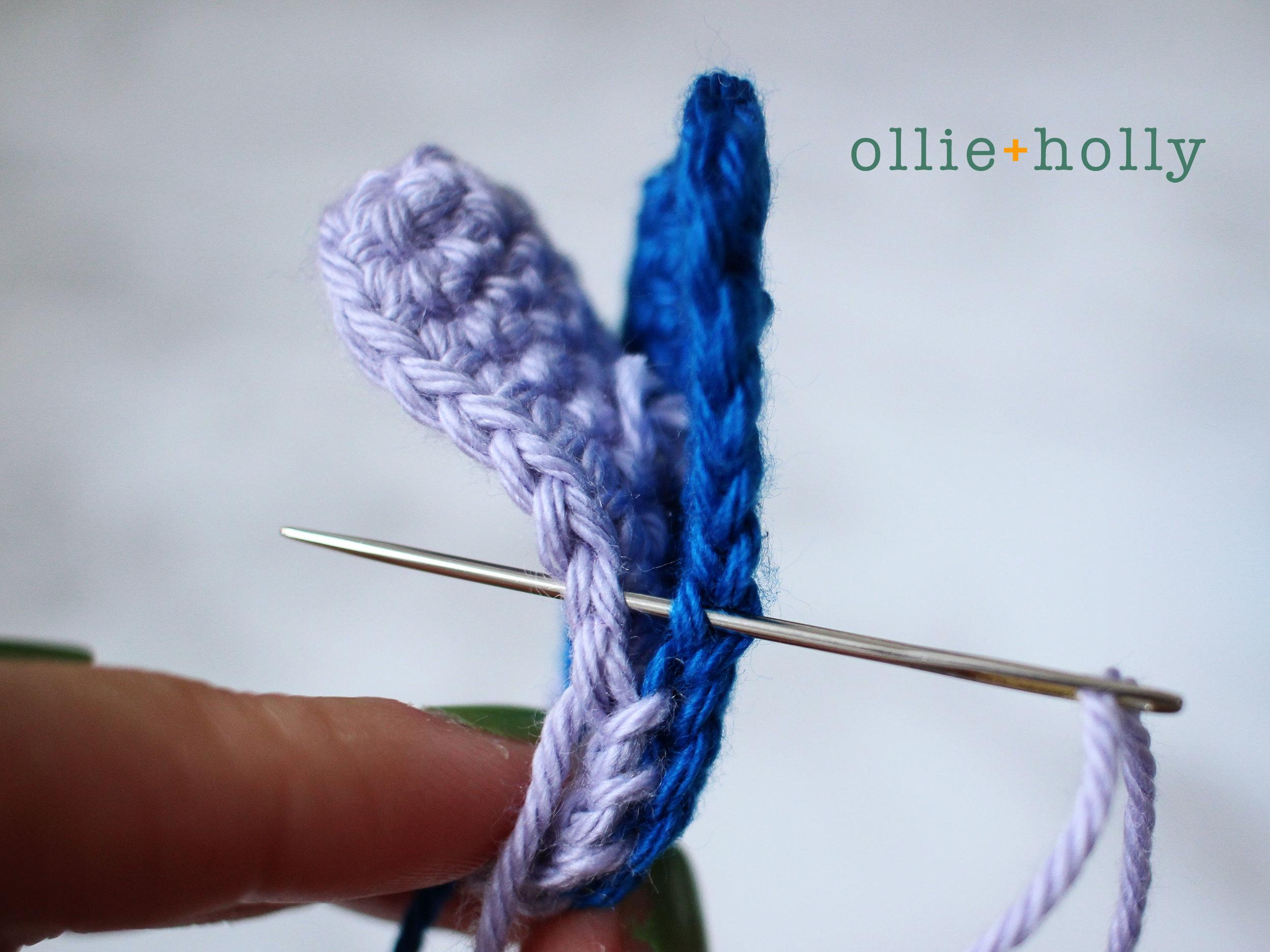 Free Lilo and Stitch Amigurumi Crochet Keychain Pattern Step 7