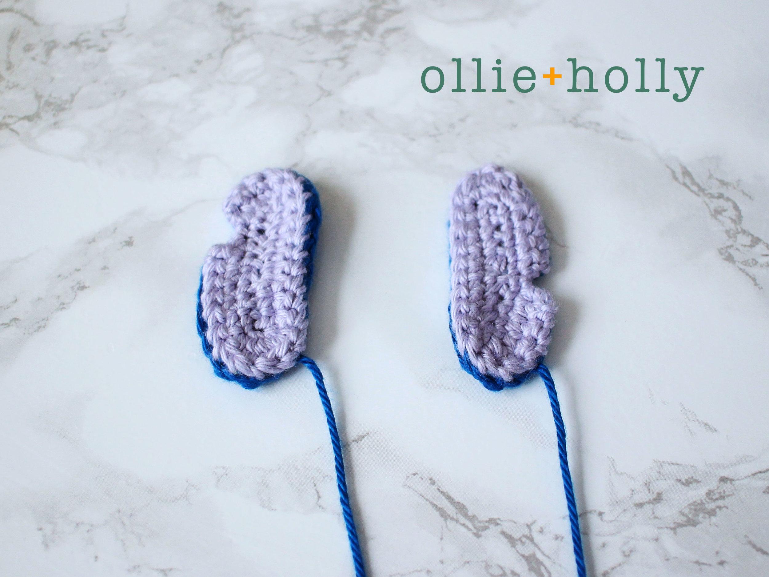 Free Lilo and Stitch Amigurumi Crochet Keychain Pattern Step 9