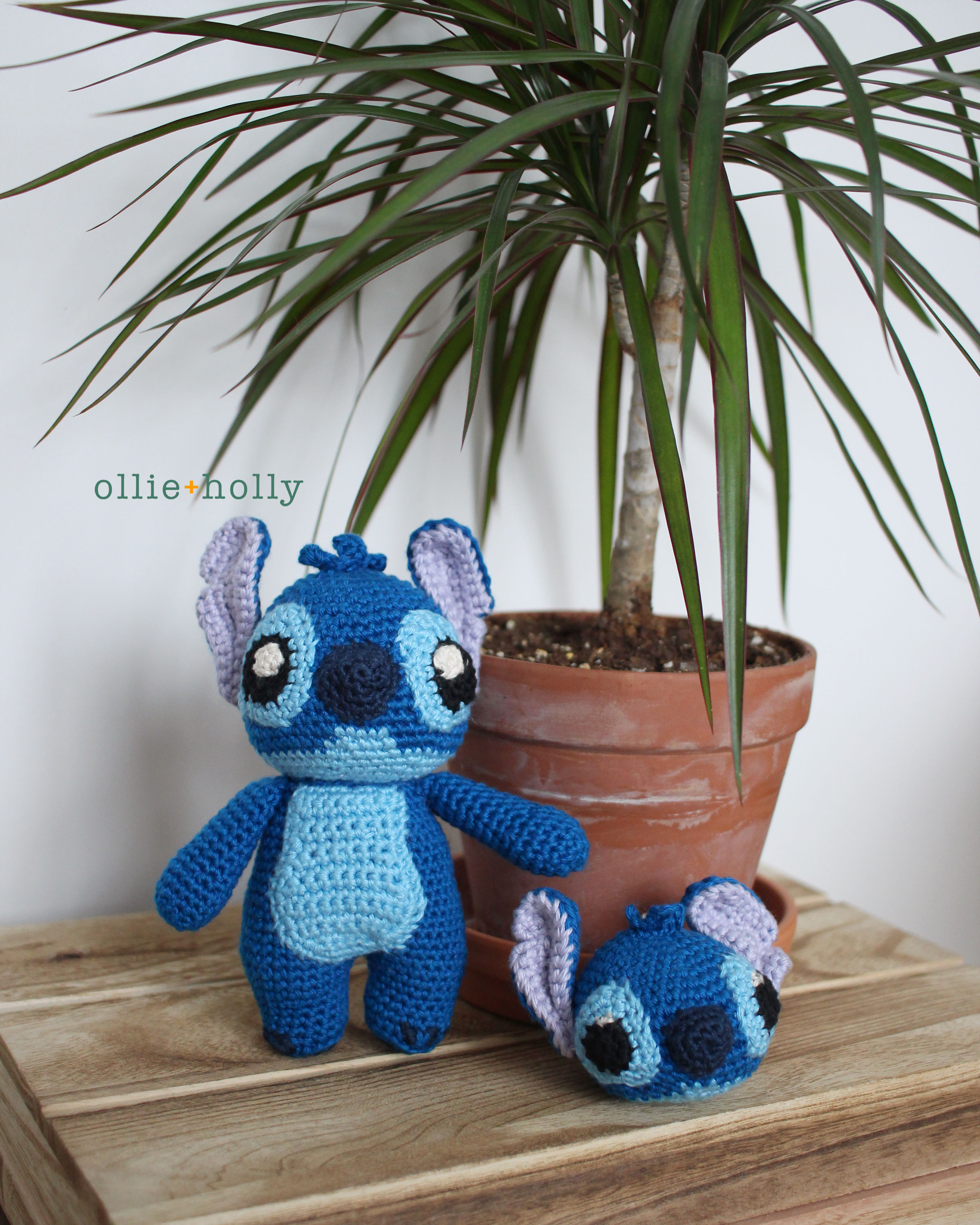 Free Lilo and Stitch Amigurumi Crochet Keychain Pattern Tutorial
