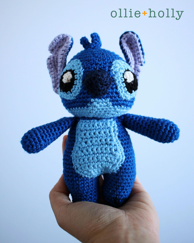 Lilo and Stitch Amigurumi Crochet Pattern Front View