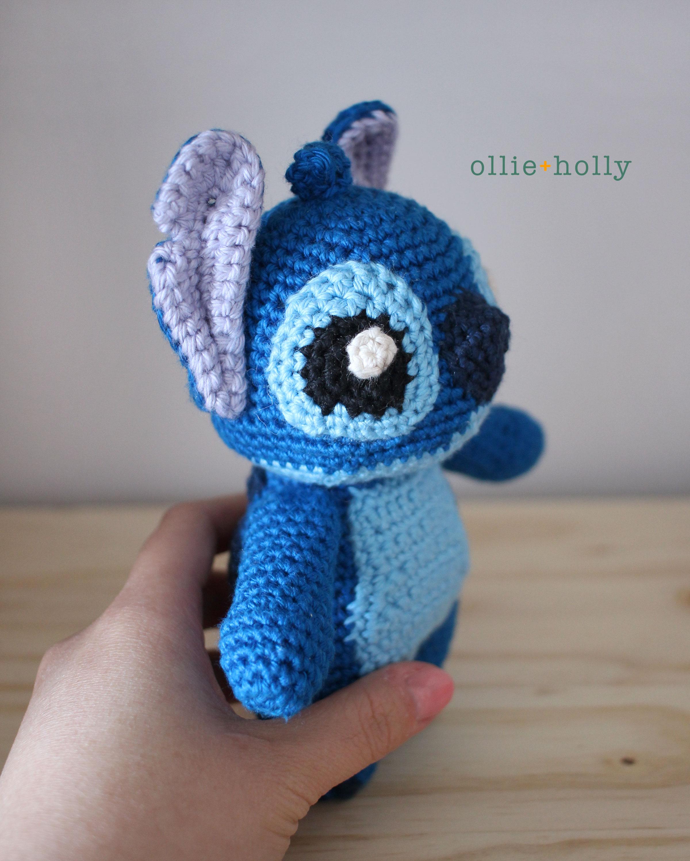 Lilo and Stitch Amigurumi Crochet Pattern Side View