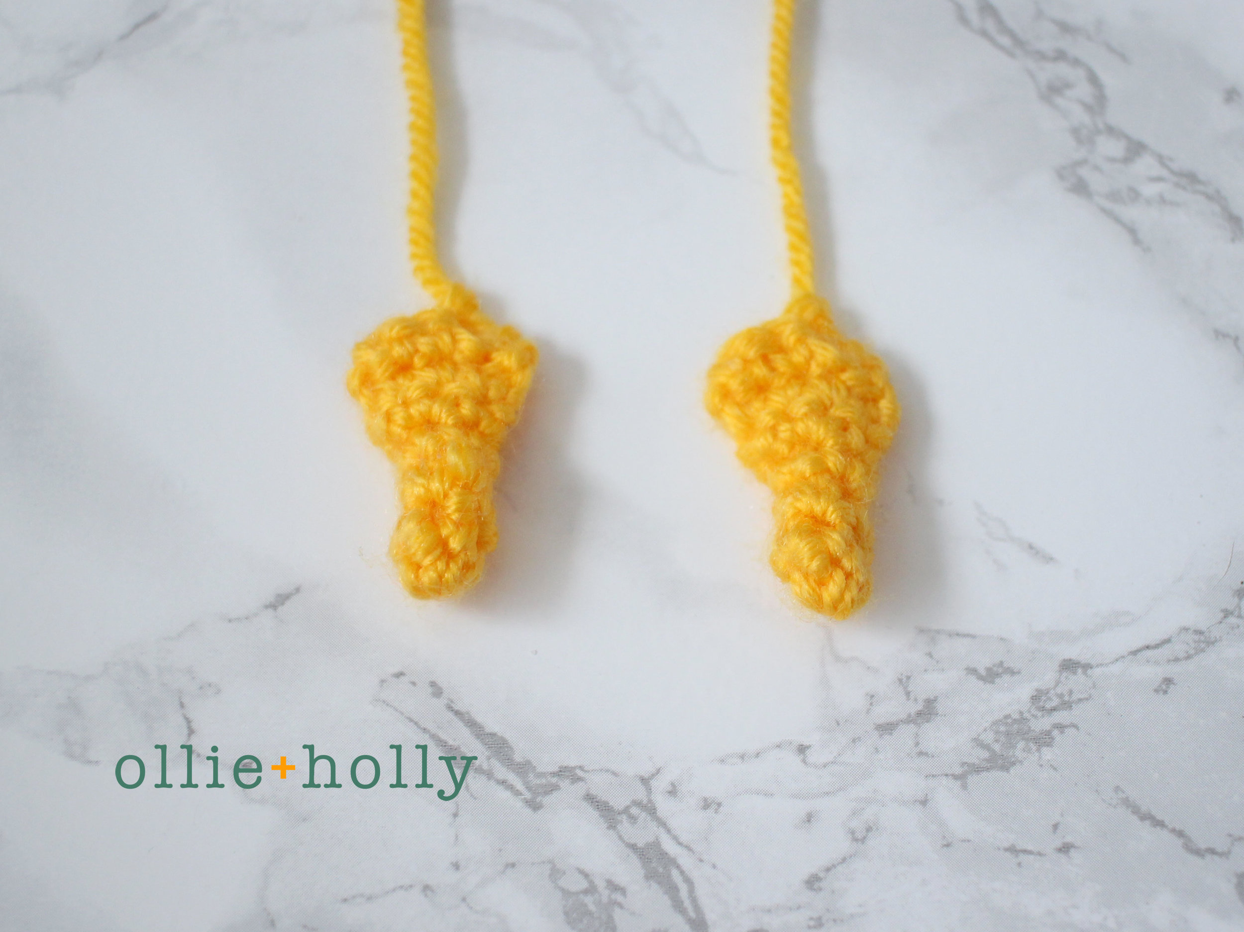 Free Gudetama Amigurumi Crochet Pattern Step 3