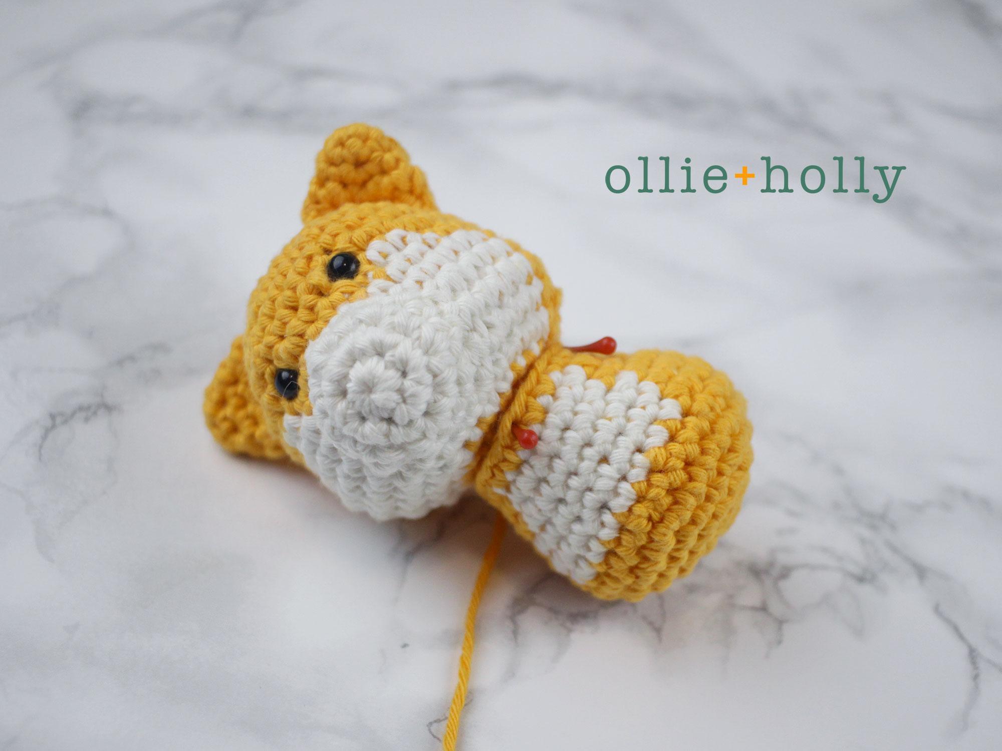 Free Shiba Inu Amigurumi Crochet Pattern Step 13
