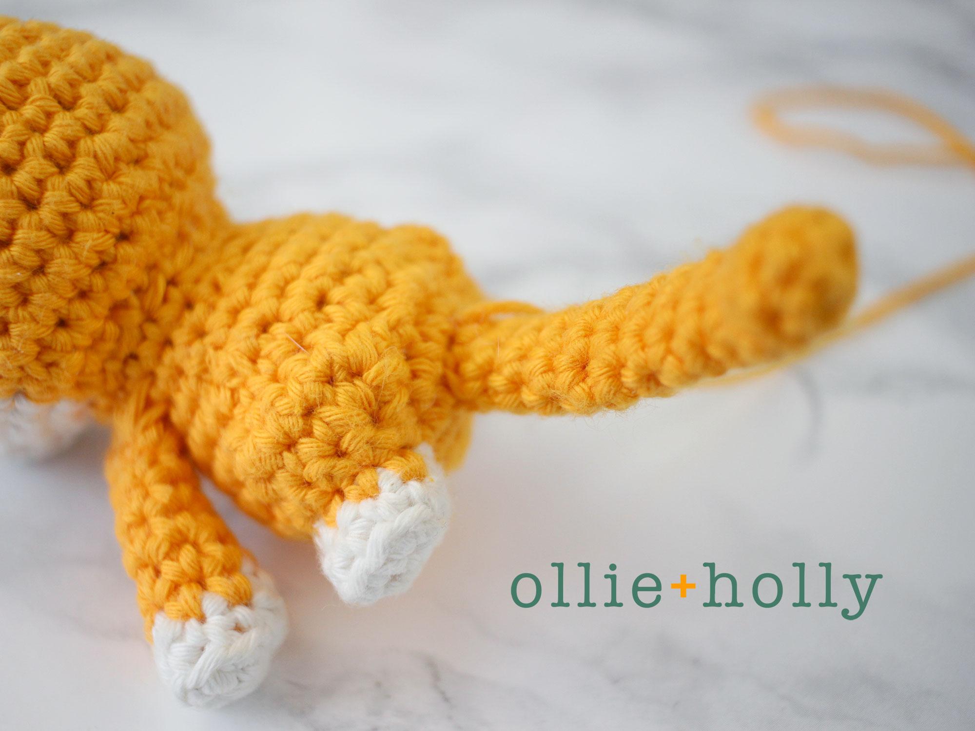 Free Shiba Inu Amigurumi Crochet Pattern Step 17