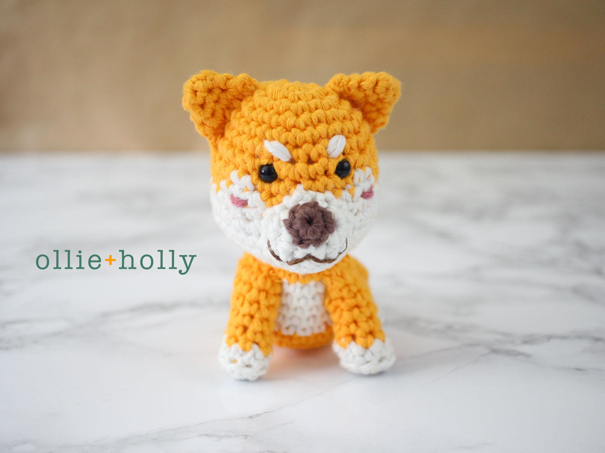 Free Shiba Inu Amigurumi Crochet Pattern Complete