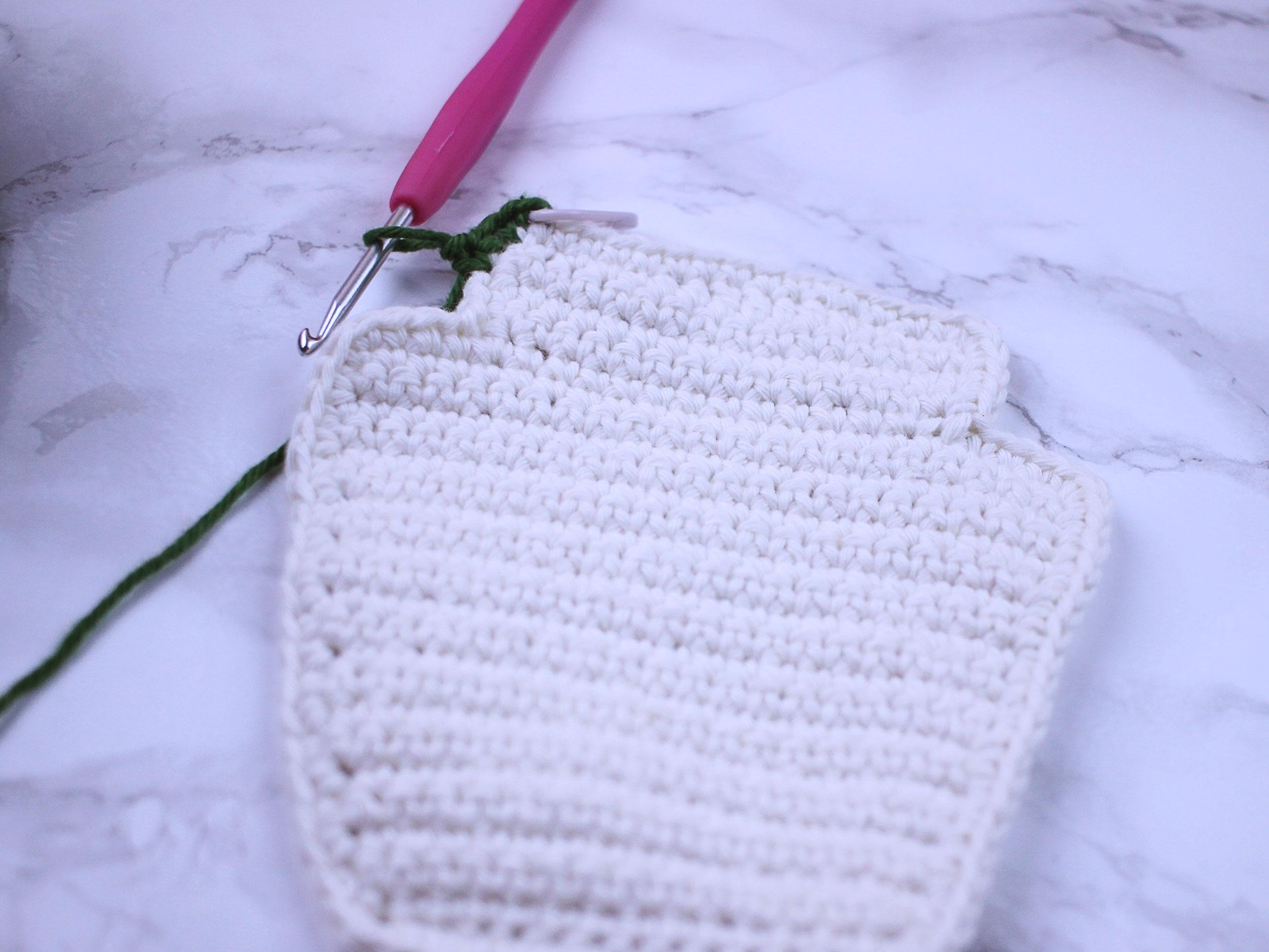Free Ketchup Amigurumi Crochet Pattern Step 7