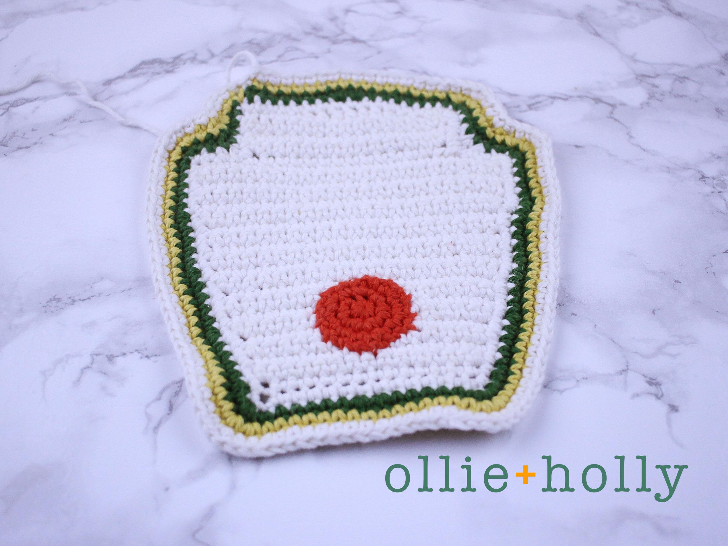 Free Ketchup Amigurumi Crochet Pattern Step 9