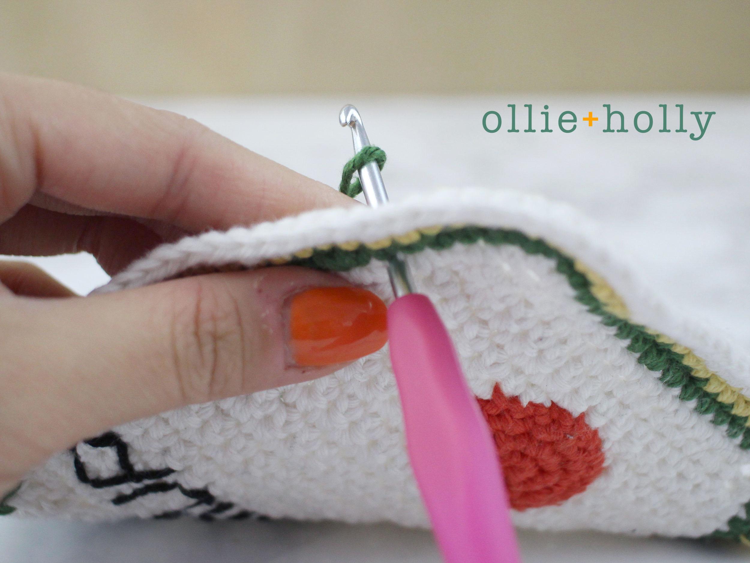 Free Ketchup Amigurumi Crochet Pattern Step 11