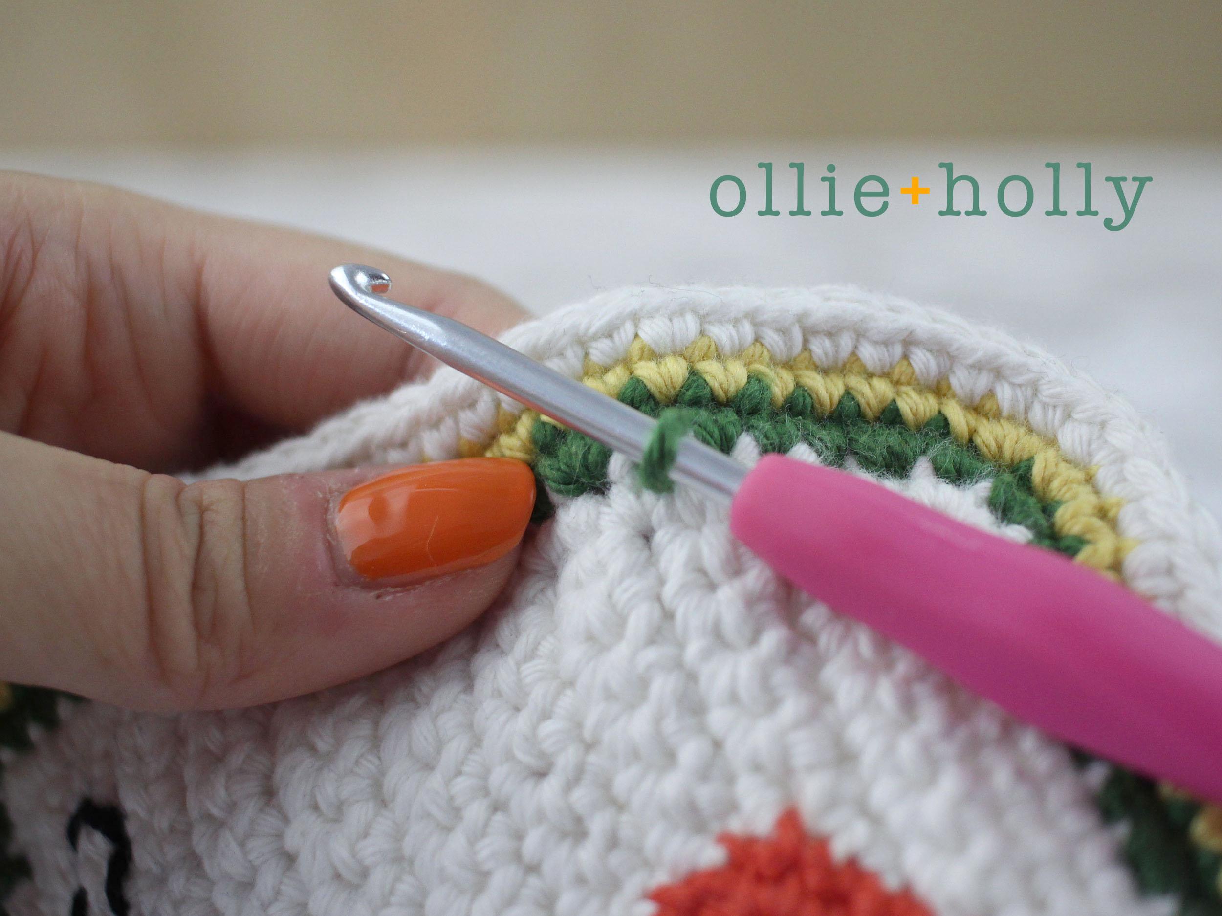 Free Ketchup Amigurumi Crochet Pattern Step 12