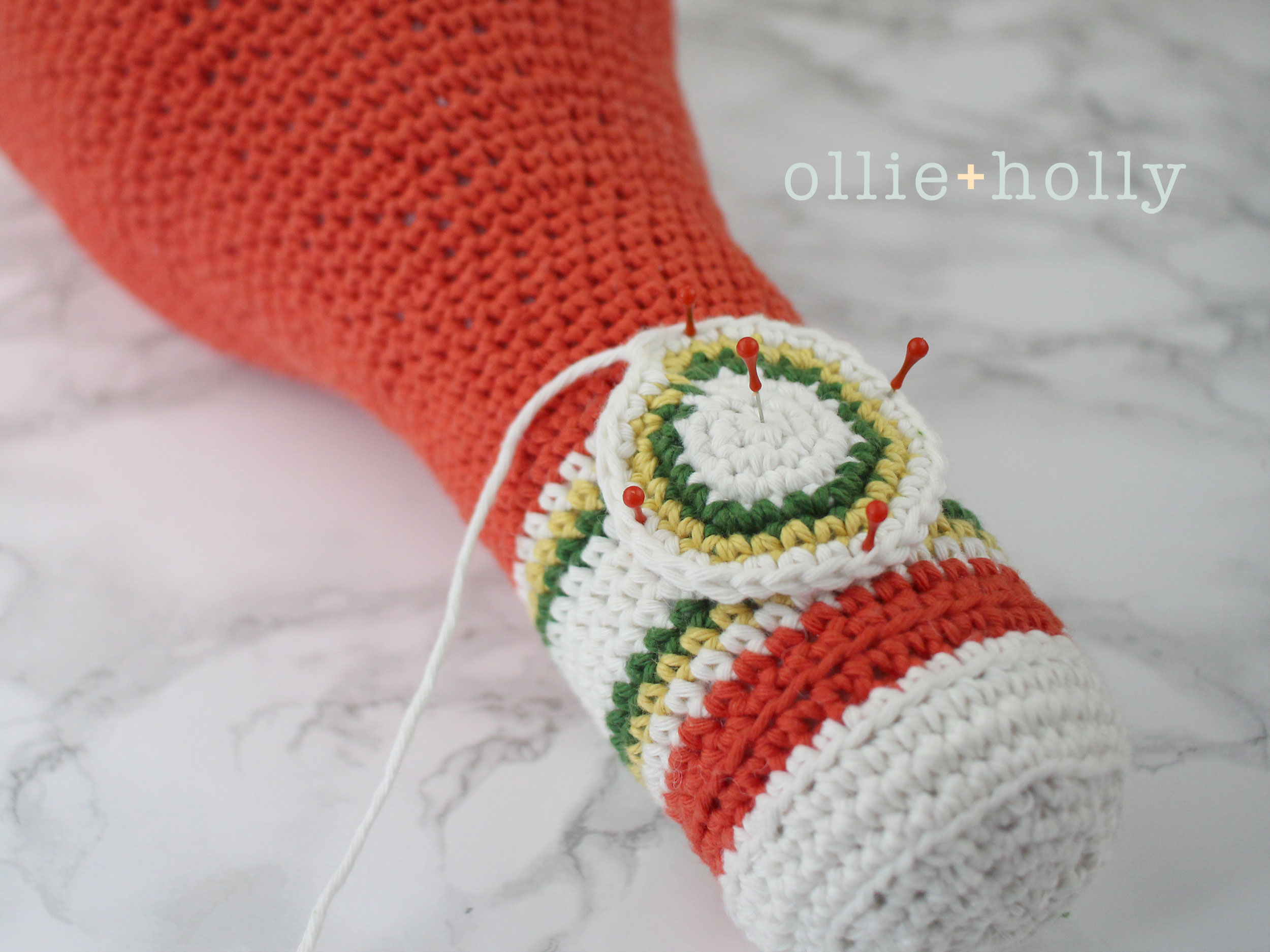 Free Ketchup Amigurumi Crochet Pattern Step 19
