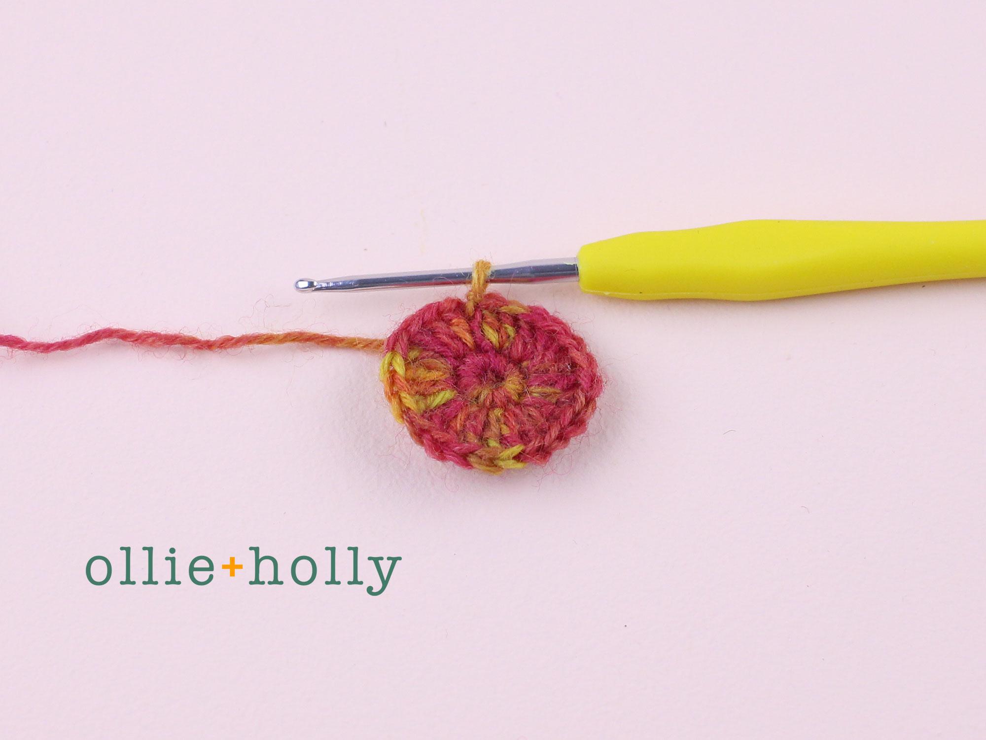 Free Crochet Produce Bag Pattern Step 1