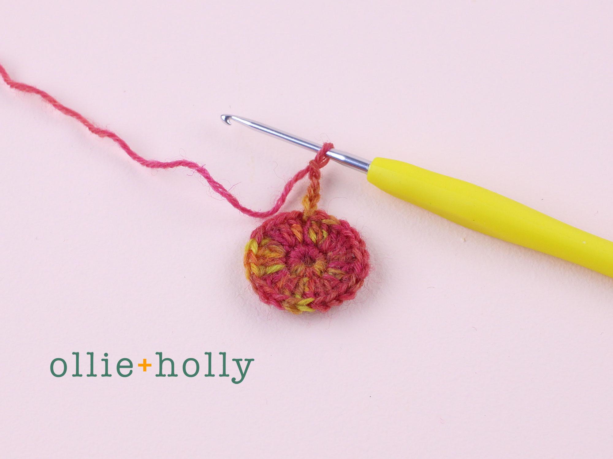 Free Crochet Produce Bag Pattern Step 2