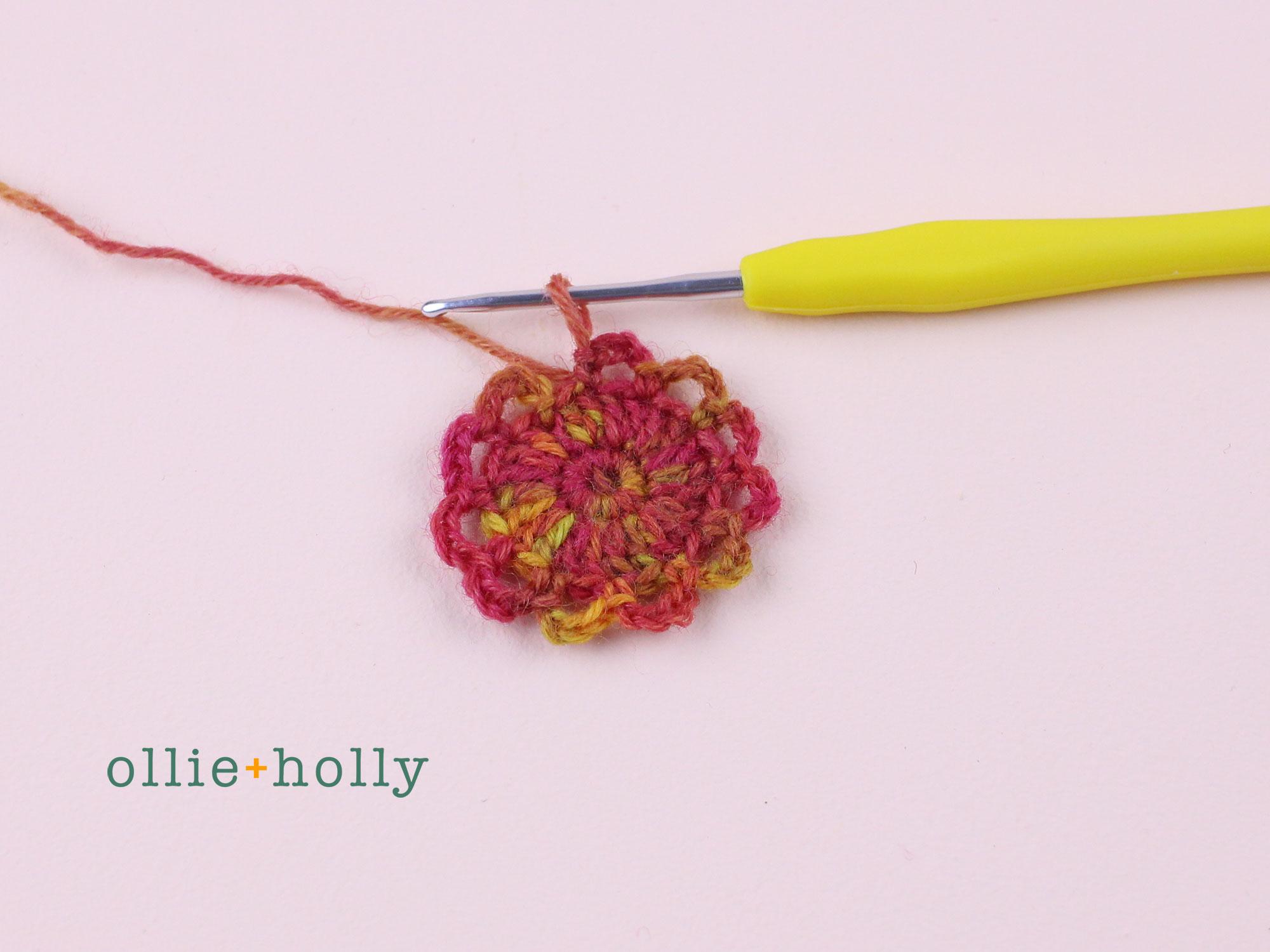Free Crochet Produce Bag Pattern Step 4