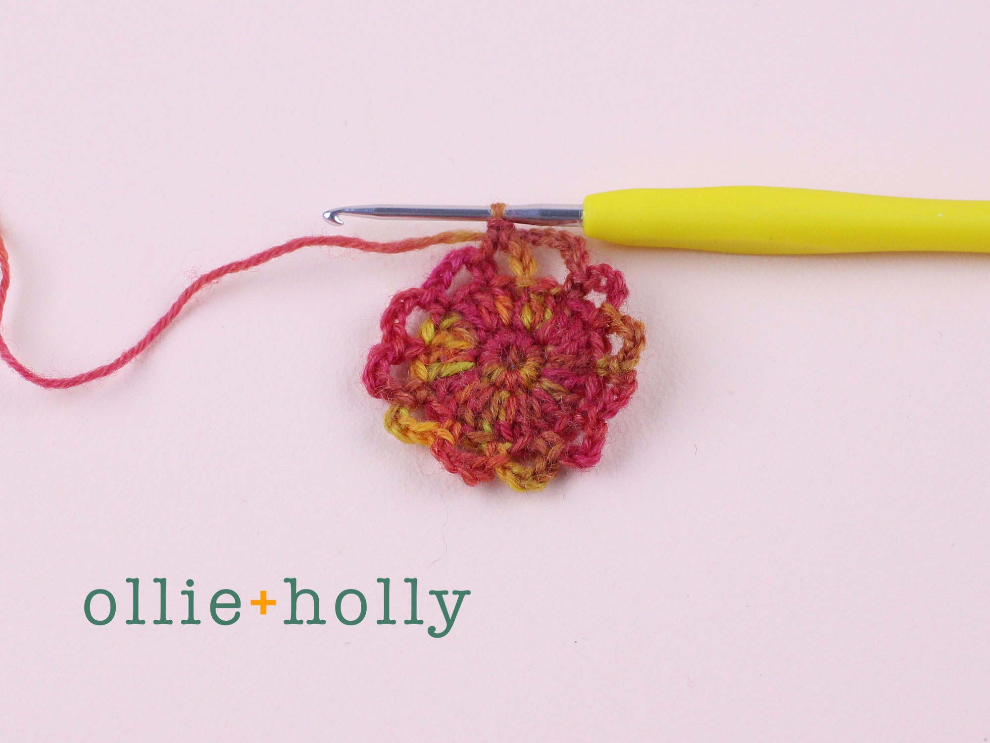Free Crochet Produce Bag Pattern Step 6