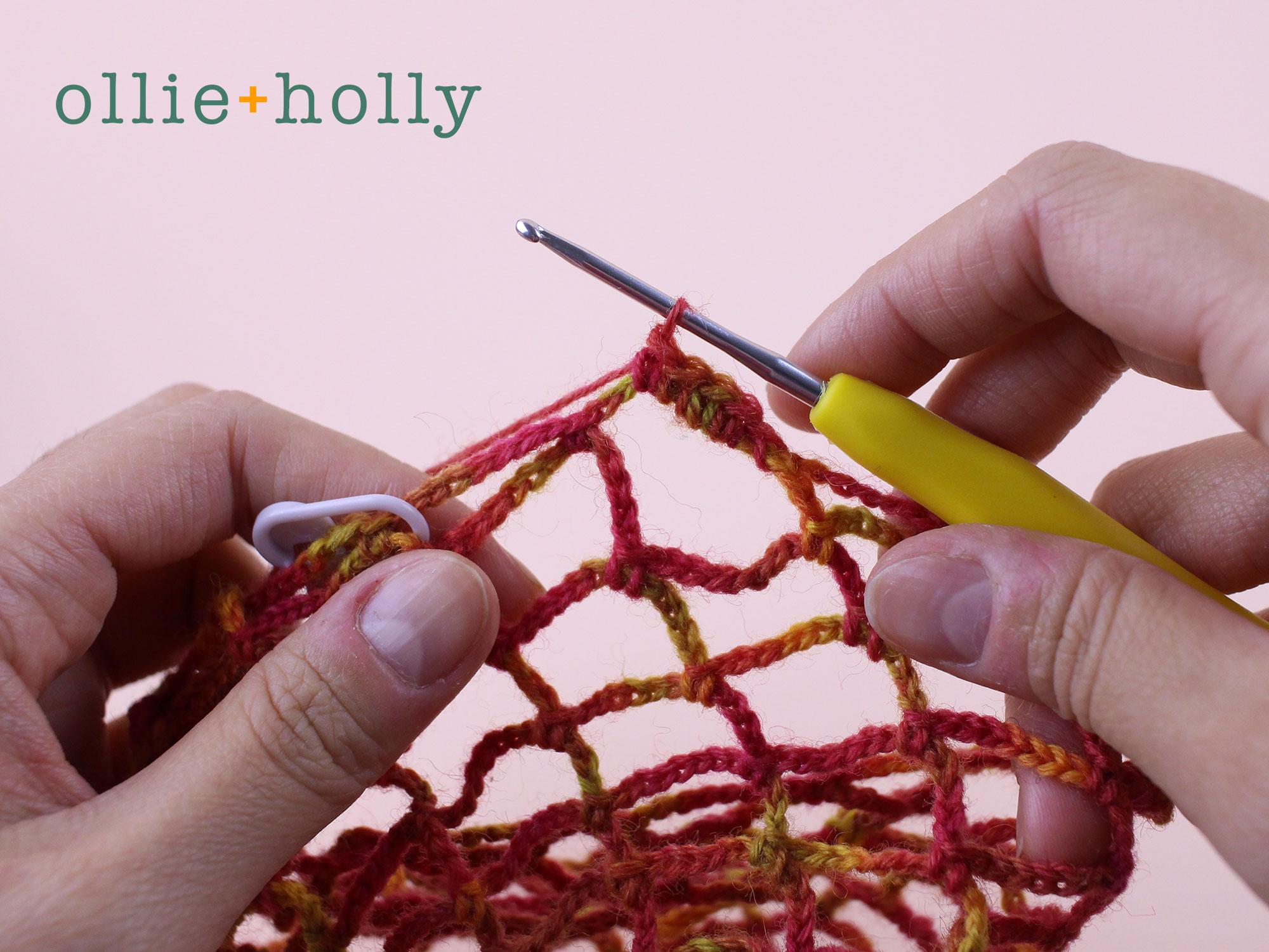 Free Crochet Produce Bag Pattern Step 9