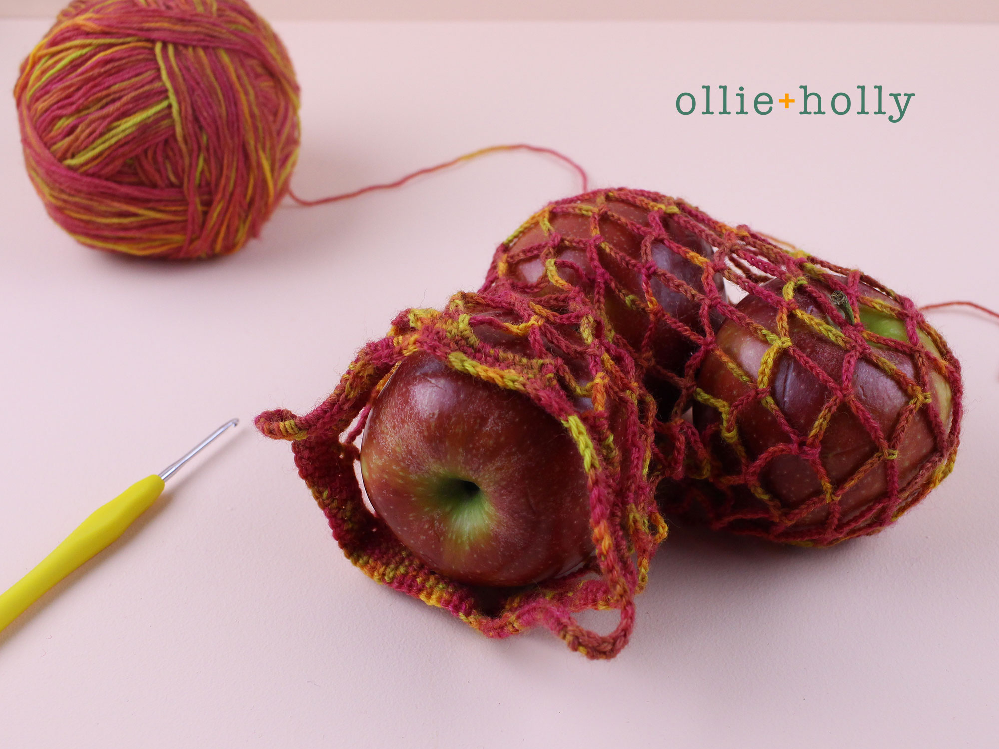 Free Crochet Produce Bag Final