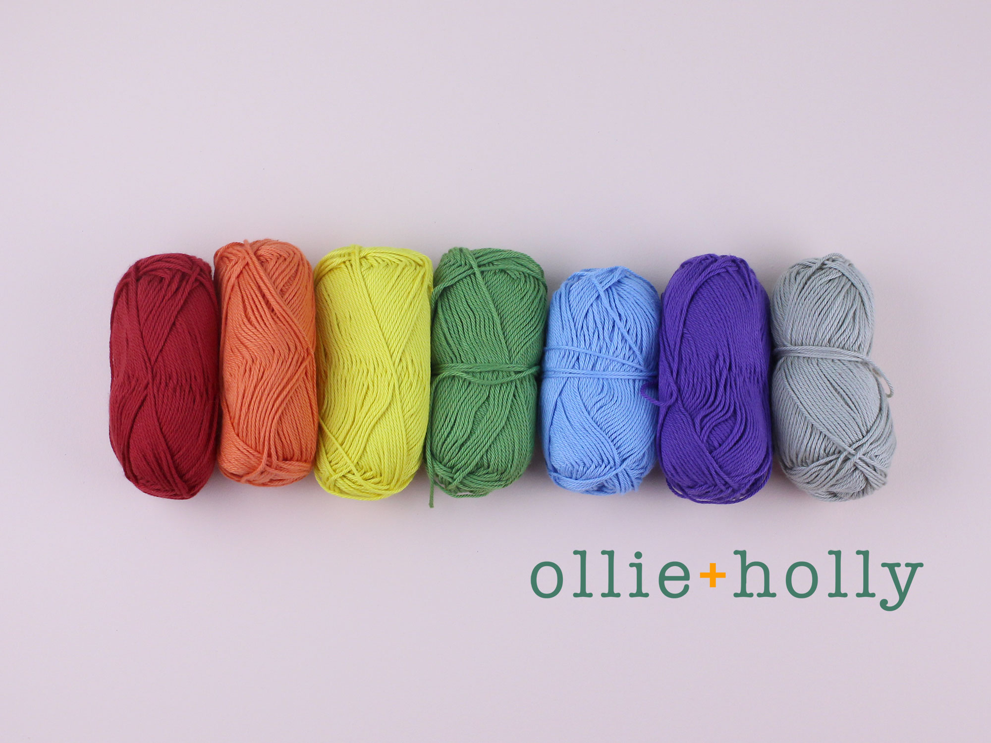 Ollie Holly Knitpicks Shine Sport Yarn Selection