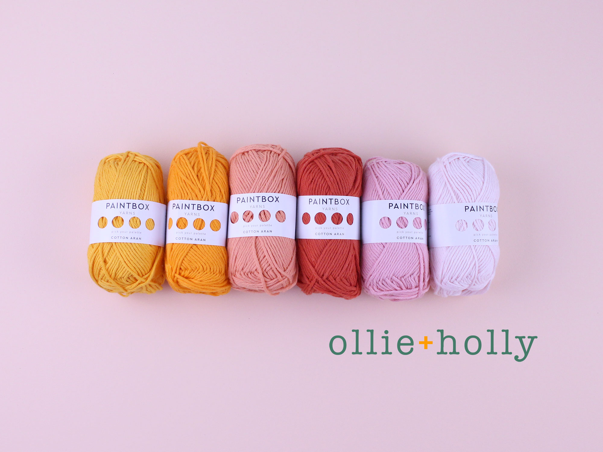 Ollie Holly Paintbox Cotton Aran