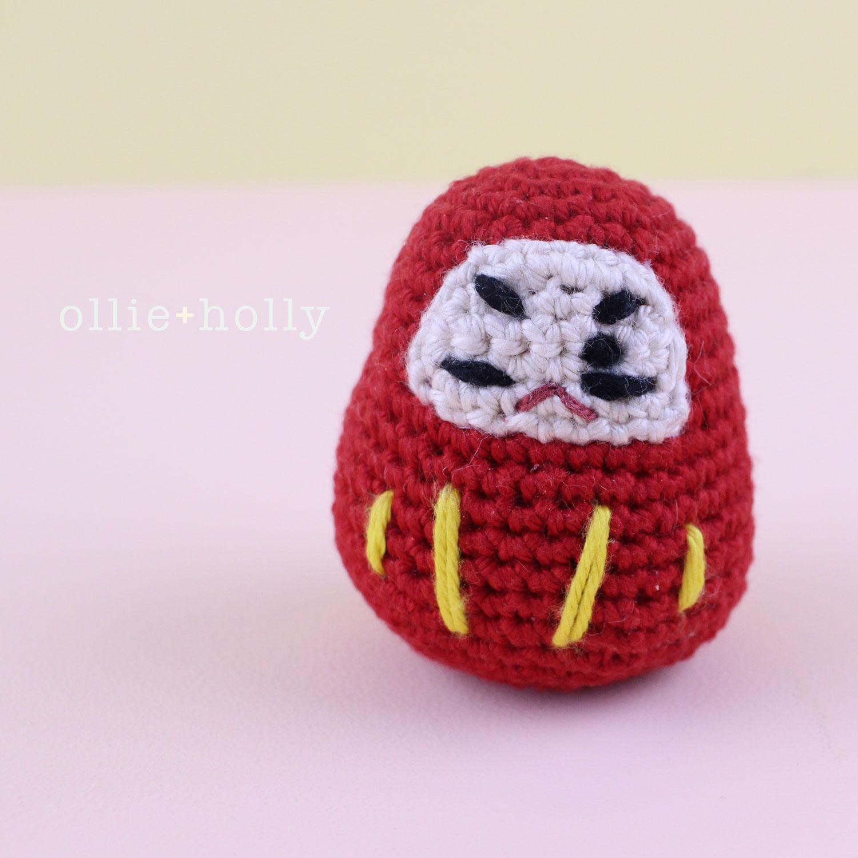 Free Daruma Amigurumi Crochet Pattern Final