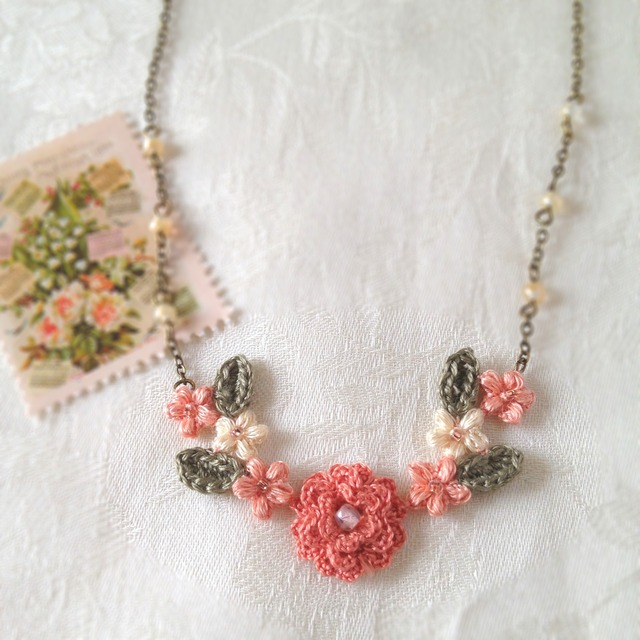 Spinu's Flower Garden Necklace
