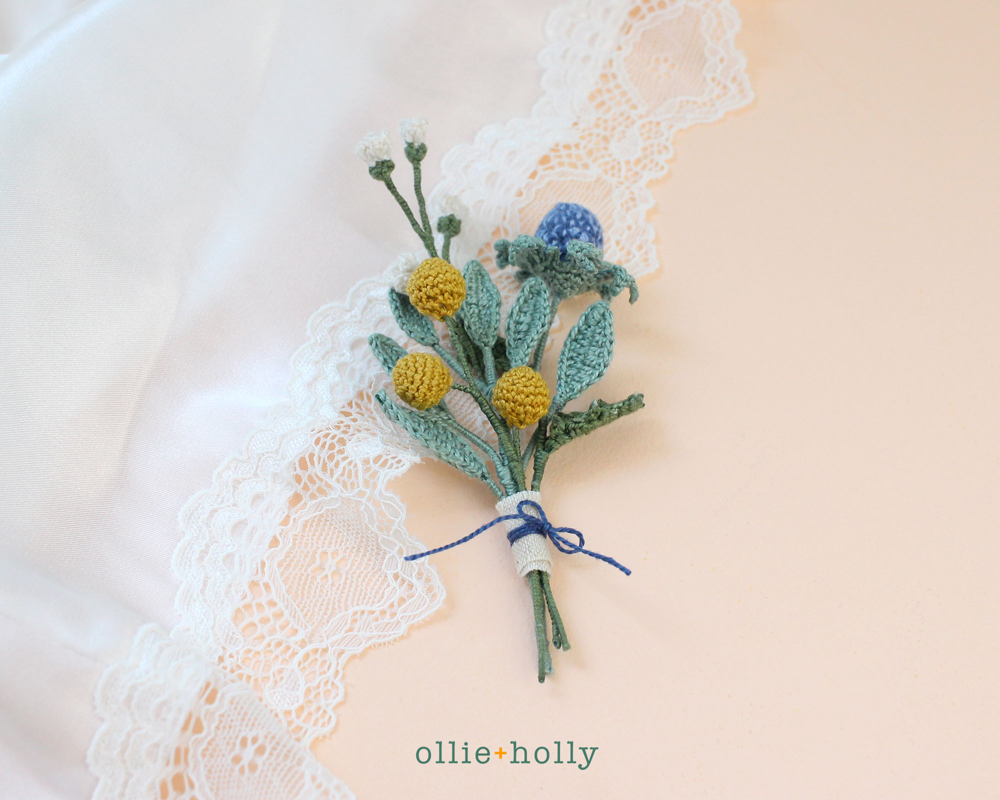 Free Billy Balls Flower Crochet Pattern