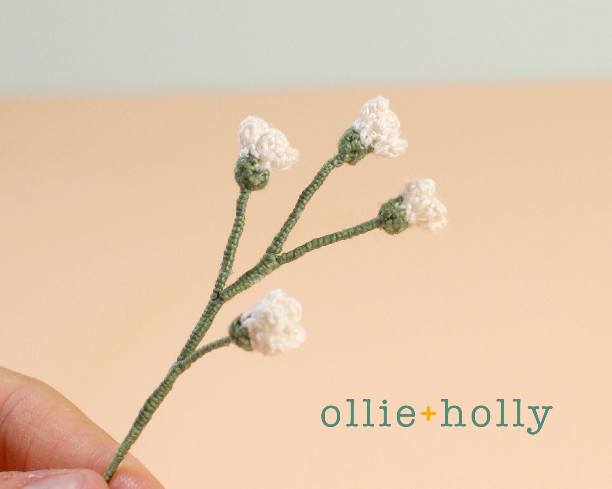 Crochet Baby's Breath Flower Pattern