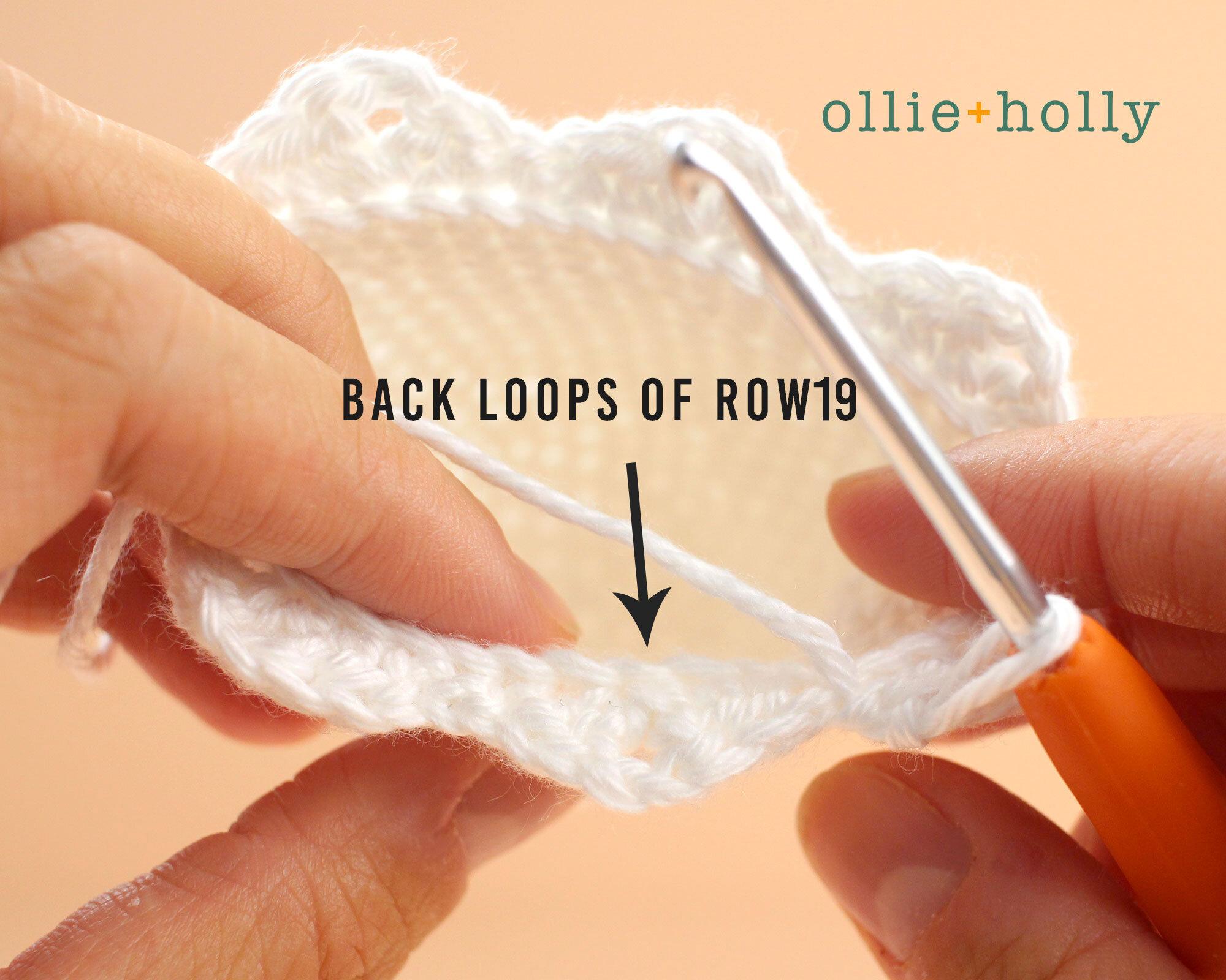 Free Halloween Ghost Ornament Amigurumi Crochet Pattern Step 2