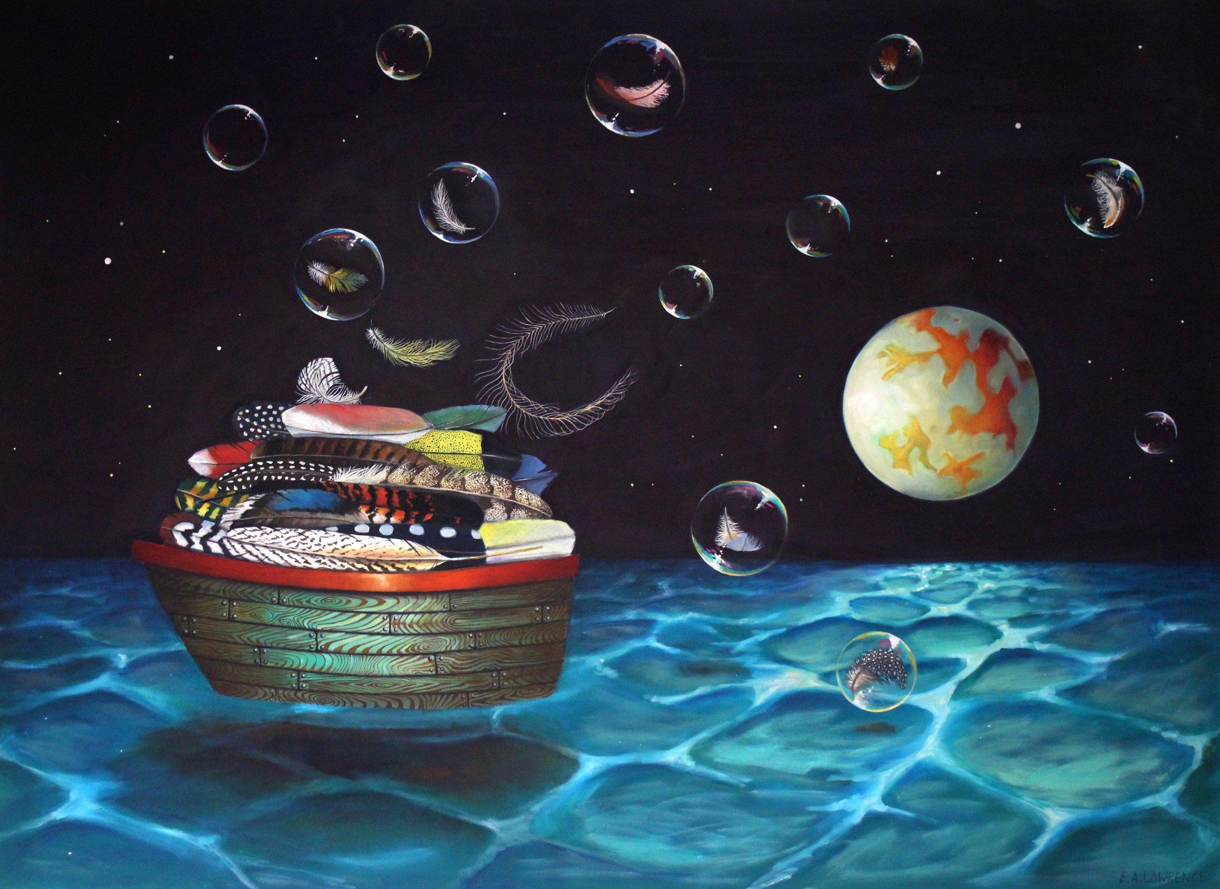 sometimes memories just float away