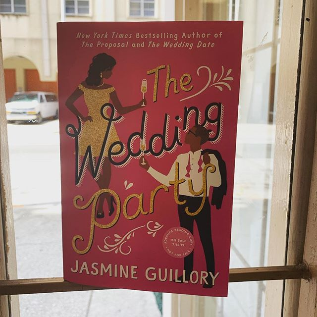 So excited to get the #arc of #theweddingparty by @jasminepics! Considering how amazing #theweddingdate and #theproposal are, I know my weekend has just been made! Remember you can preorder it for delivery on its release day? July 16th! @indiesloveromance #romancelandia #jasmineguillory #2019books #bookstagram