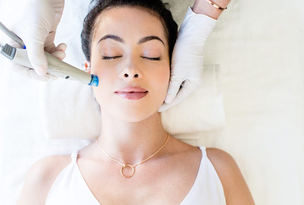 HydraFacial - HydraFacial doesn't have a skin type - it's for everyone and address all skincare needs. Whether you have lines and wrinkles, blemishes and breakouts, brown spots, or uneven skin texture, HydraFacial can improve your entire complexion with just a few treatments!