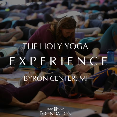 Join us as we travel to Grand Rapids for a Holy Yoga Experience, Saturday, September 7, 2019. Register here:    https://holyyoga.net/hyexperience/