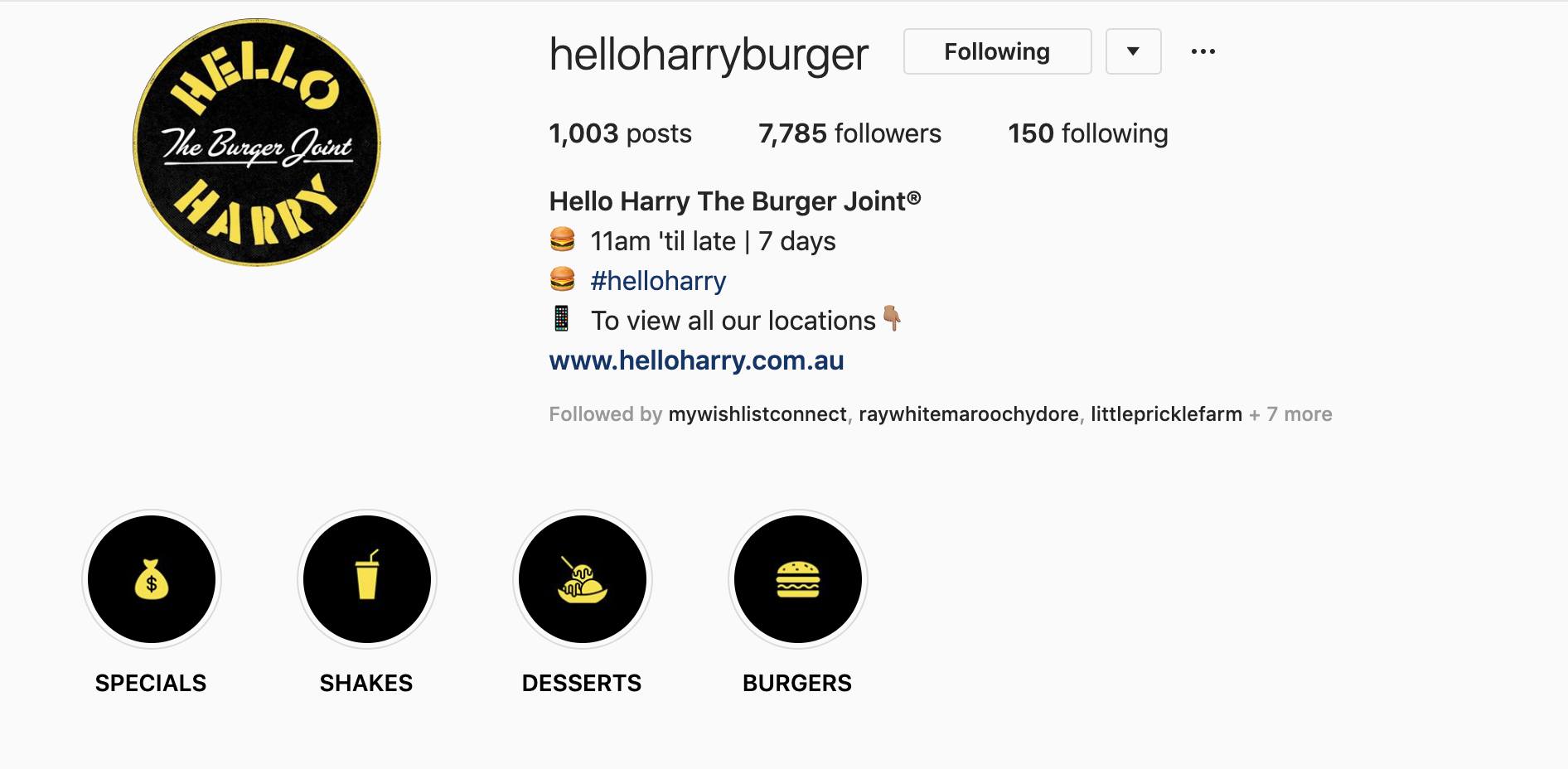 Hello Harry Instagram