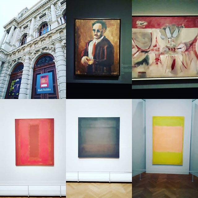 The Mark Rothko retrospective @kunsthistorischesmuseumvienna is mind-bendingly good. Superb curation marking his evolution as an artist, alongside a very well presented written history of his life. #markrothko #markrothkoart #viennaart #zannacreative #art #culture