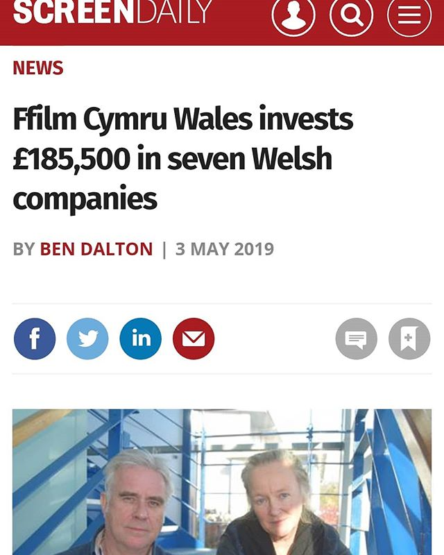 Helping to support and grow Welsh creative businesses, @ffilmcymruwales have just invested in seven fantastic companies. Our Director @zannacreativeuk was proud to sit on the investment panel. #welshfilm #welshtalent #ffilm #film #ffilmcymru #wales #ukfilm #bfi #artscouncilofwales #ukinvestment #zannacreative