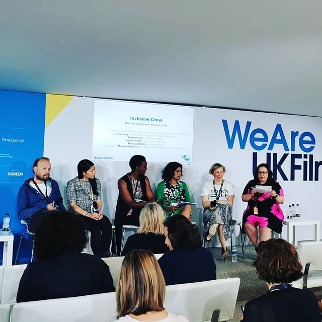 Why we need more inclusive crew - such an important issue, we need the industry to move on not just individuals to drive change. #weareukfilm #cannes2019 #zannacreative #cannesfilmfestival #diversity #timesup @starcrossent @indietrainingfund @britishfilminstitute @melsil