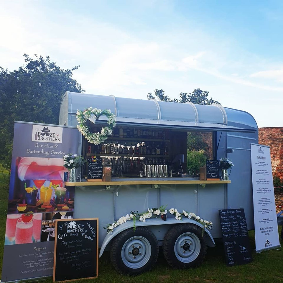 Our New Horse Box Bar! - This Beautiful Unit Is Available to Hire Fully Loaded With A Great Selection Of Beer, Cider, Wines, Spirits & Cocktails!Click Here To Learn More!!!