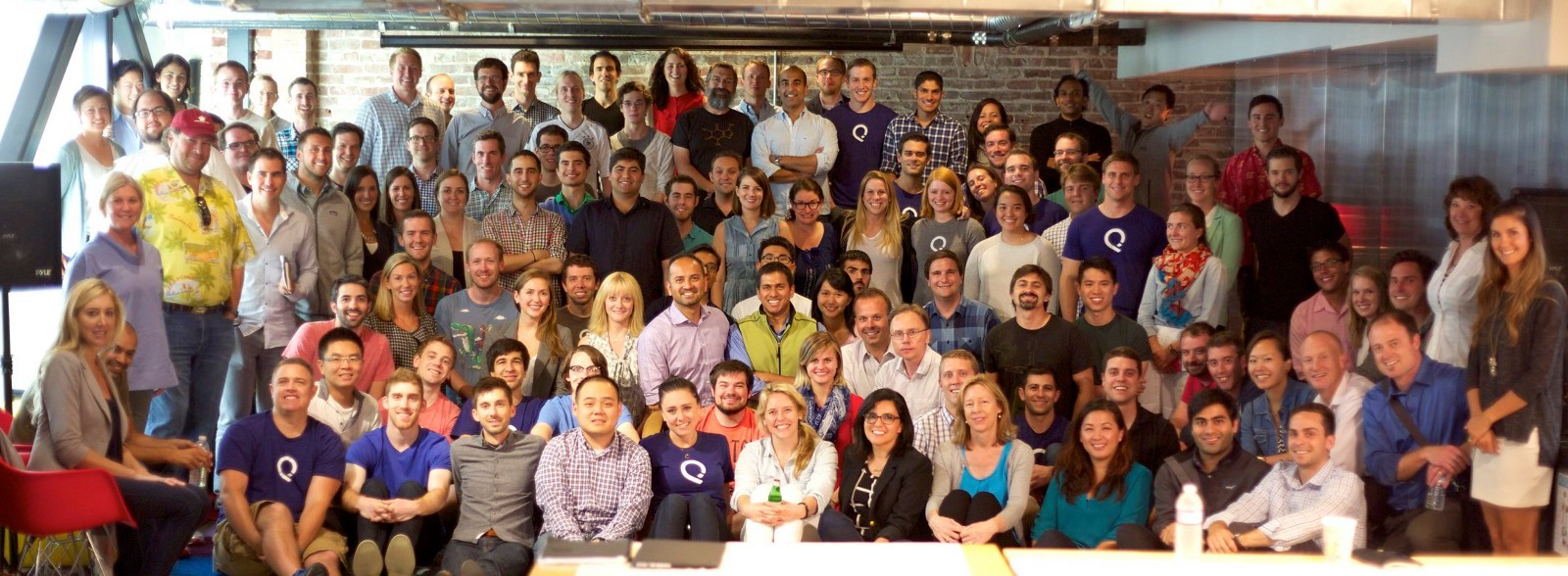 The team, circa 2014, when they were acquired by Salesforce.