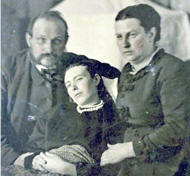 One last photo - The practice of capturing photos with the deceased was one of the stranger mourning rituals during the Victorian Age. The slow shutter speeds of cameras in the 1800s meant that the dead were often more sharply rendered than the living.