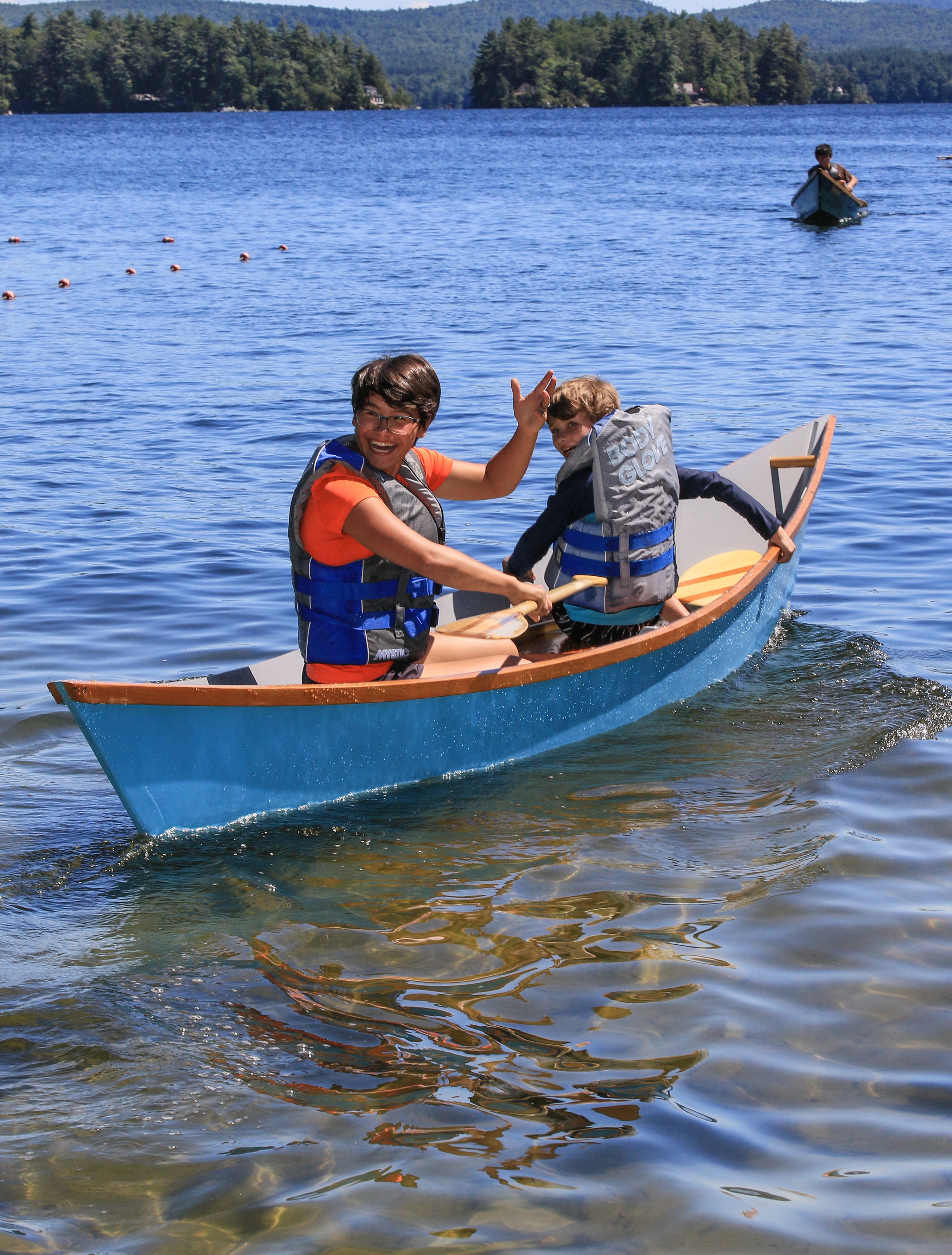 Kids build boats and enjoy launching at NH Boat Museum