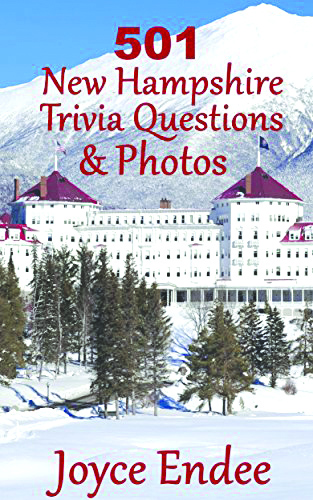 "The cover of Joyce Endee's book, ""501 New Hampshire Trivia Questions & Photos"""