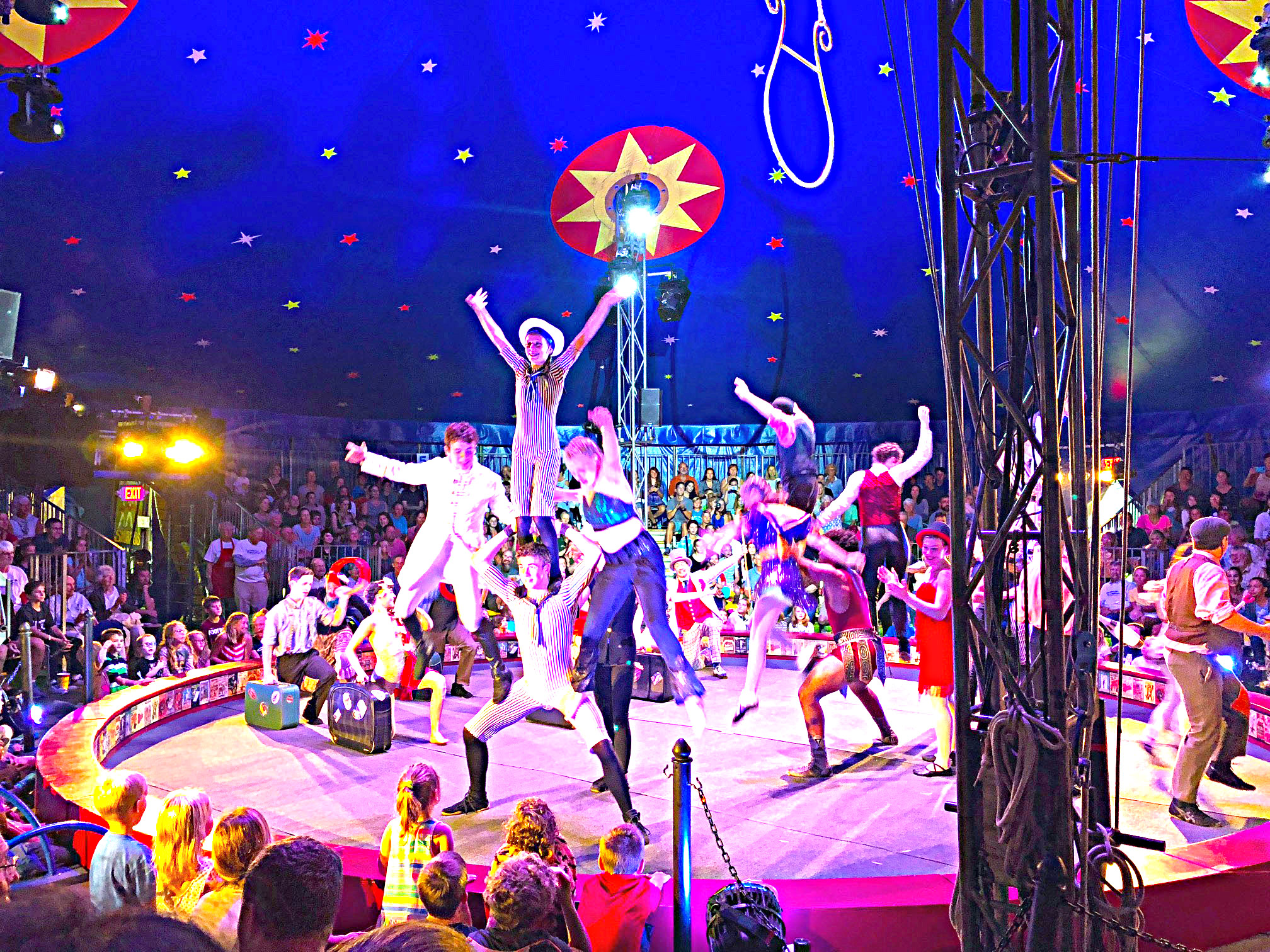 Circus Smurkus will perform at The Nick this summer