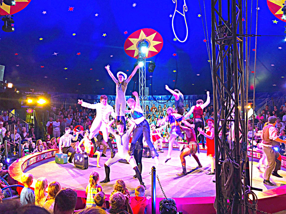 Circus Smurkus will perform at The Nick this summer.  Photo courtesy Nicholas J. Pernokas Recreation Park (The Nick)