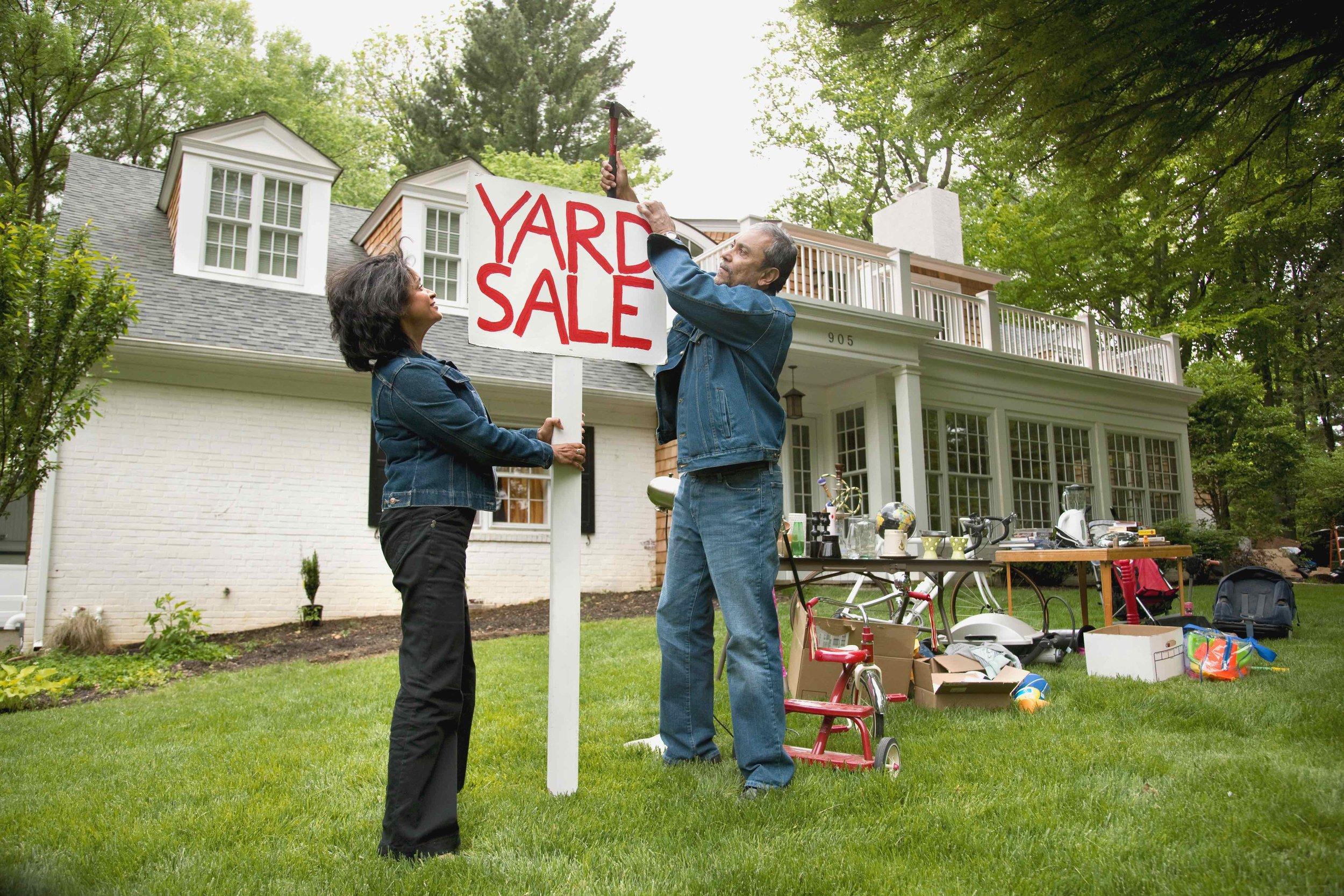 Getting ready for yard sale season.