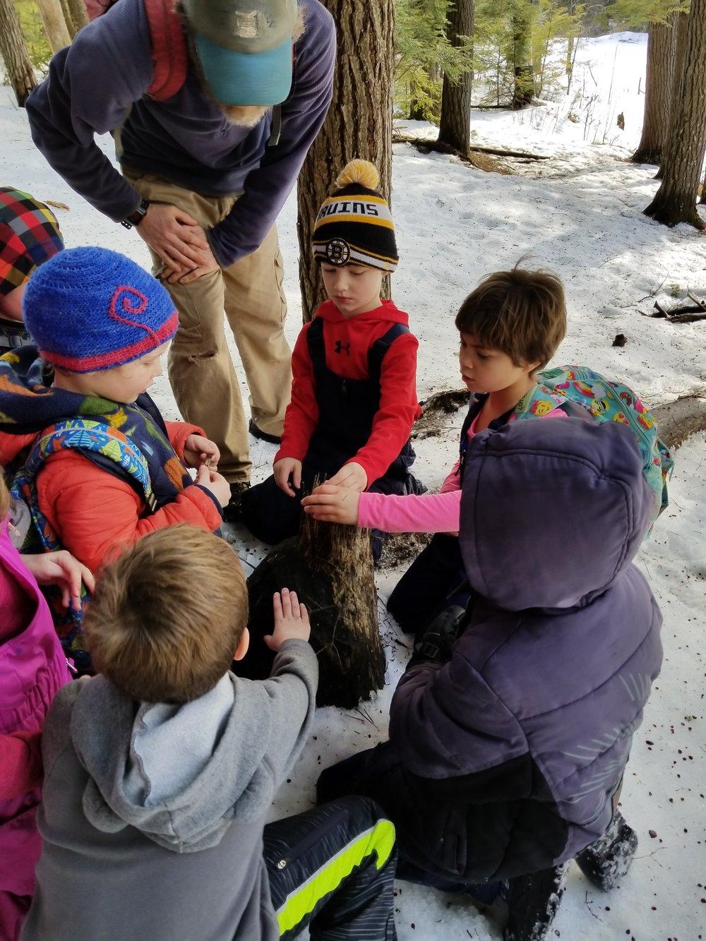 Winter camp activities