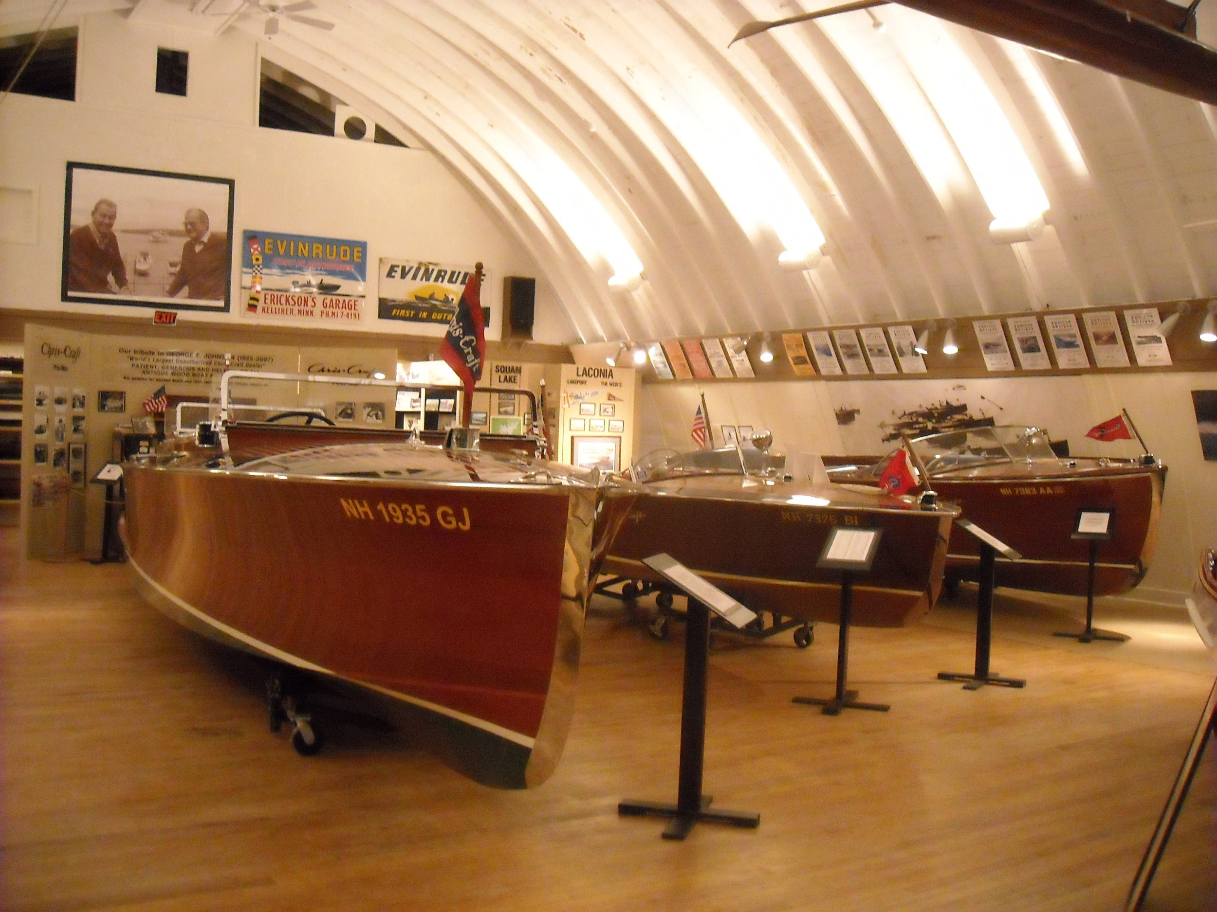 New Hampshire Boat Museum Exhibit