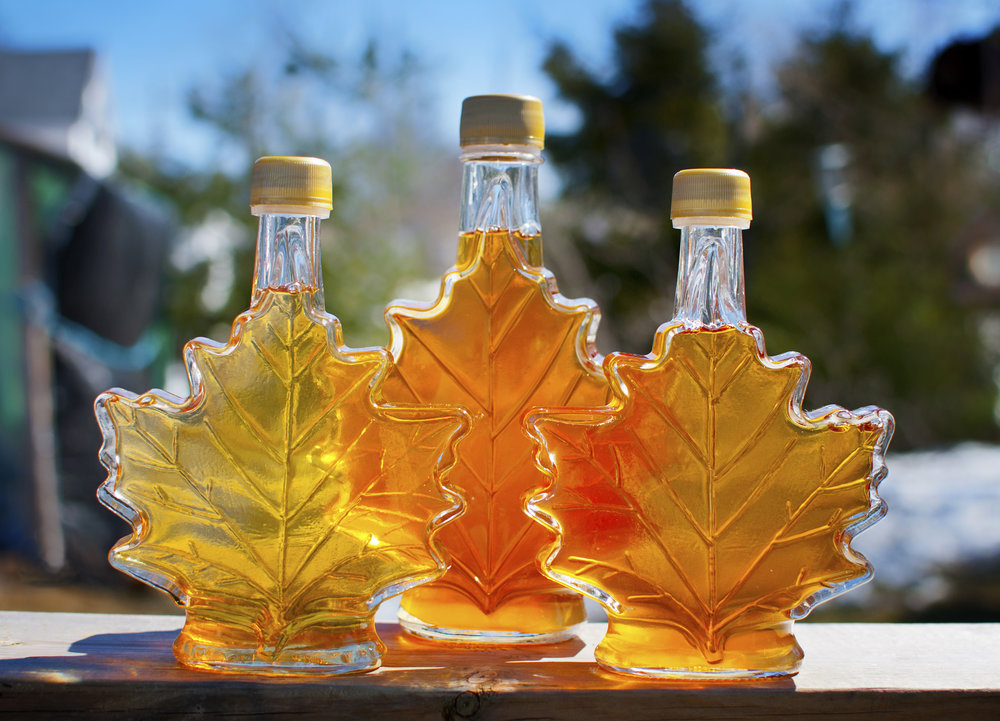 Fresh maple syrup