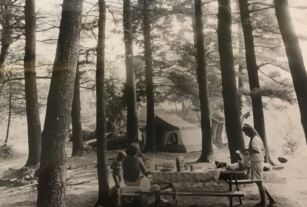 Summertime camping at Gunstock