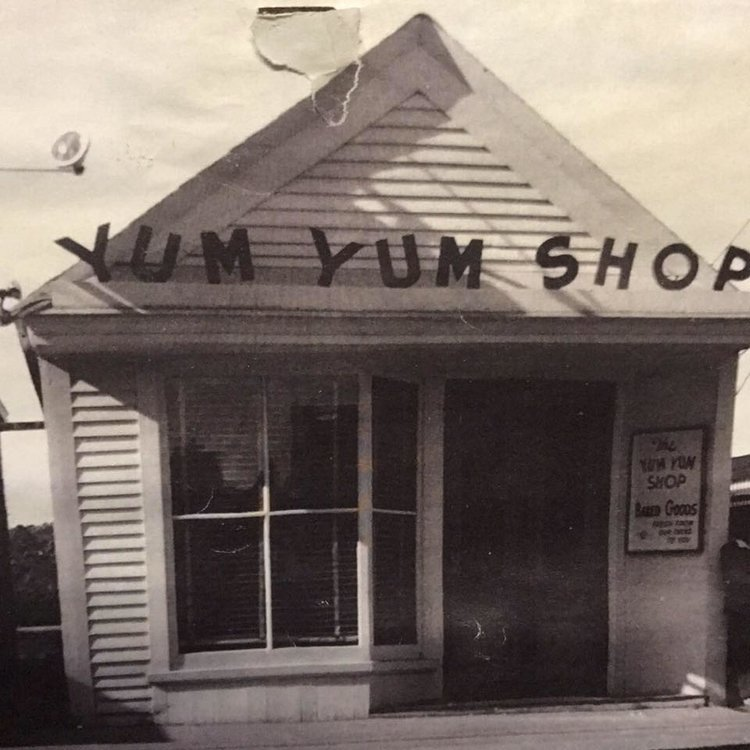 The Yum Yum Shop's original location