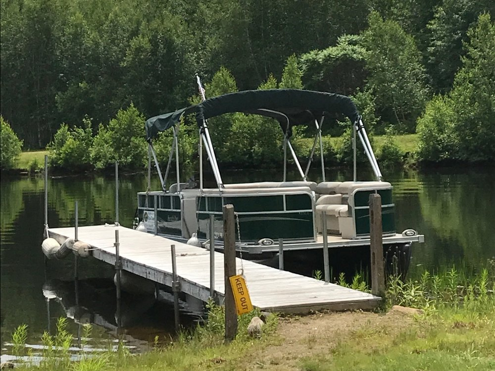 The EcoTour Pontoon Boat